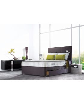 Sealy Sapphire Latex Superior Divan Bed Set