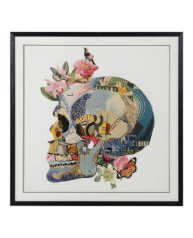 Vanitas Skull Collage Picture