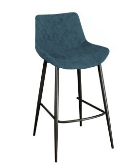 Classic Sigma Bar Stool in Mineral Blue