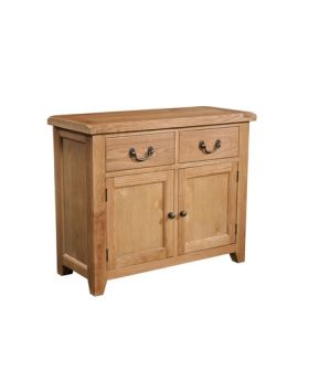 Devonshire Somerset Oak 2 Door 2 Drawer Sideboard