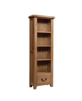Devonshire Somerset Oak Bookcase 600 X 1800
