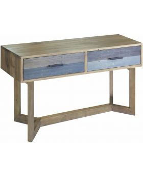 Classic Furniture Heirloom Reclaimed Small Console Table