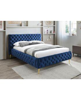 Tiffany Bedframe in Royal Blue