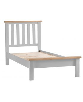 Kettle TT Bedroom Grey Single Bed Frame