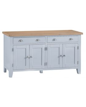 Kettle TT Dining Grey 4 Door Sideboard