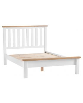 Kettle TT Bedroom White King-Size Bed Frame