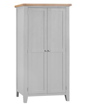 Kettle TT Bedroom Grey Full Hanging Wardrobe