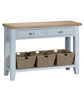 Kettle TT Dining Grey Large Console Table