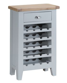 Kettle TT Dining Grey Wine Cabinet