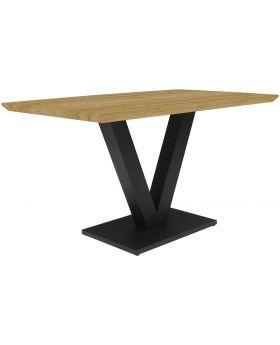 Classic Larson Rectangular Dining Table - Fusion Oak