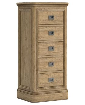 Classic Versailles Tall 5 Drawer Chest