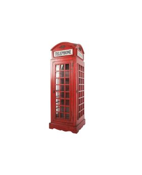 Ancient Mariner Vintage Red Phone Box