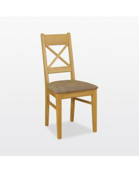 TCH Windsor Dining Small Cross Chair Soft Seat