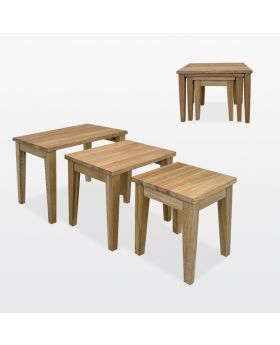 TCH Windsor Dining Nest of Three Tables