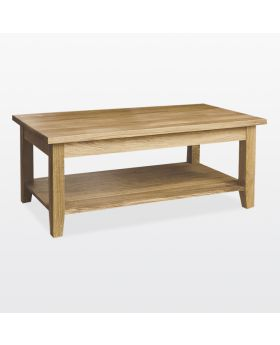 TCH Windsor Dining Coffee Table with Shelf