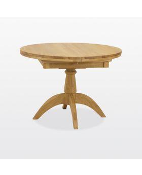 TCH Windsor Dining Single Pedestal Flip Top Table