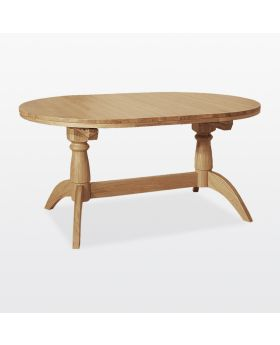 TCH Windsor Dining Double Pedestal Extended Table (2 Leaves)