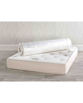 Relyon 1390 Wool, Silk and Cashmere Roll Up Mattress