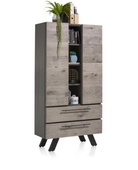 Habufa Vinovo Storage Cabinet with LED Lights