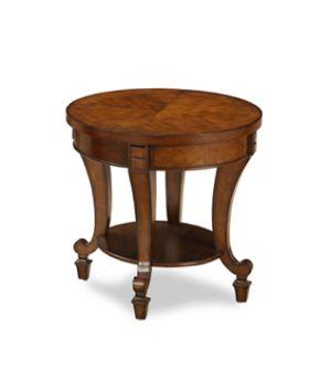 Value Mark York Circular End Table