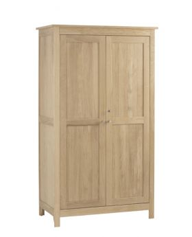 Corndell Nimbus Bedroom Mist Finish Double Wardrobe