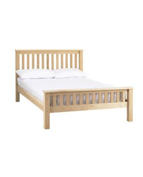 Corndell Nimbus Bedroom Mist Finish Strata Bed 4ft 6in