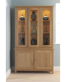 Corndell Nimbus Dining Tall Display Cabinet