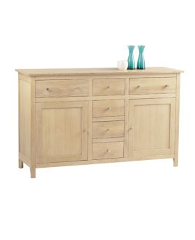 Corndell Nimbus Dining Long 6 Drawer Sideboard