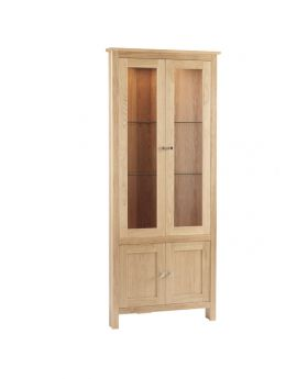 Corndell Nimbus Dining Corner Glazed Display Cabinet
