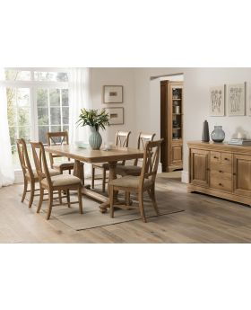 Vida Carmen Dining Set with 6 Chairs