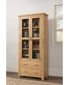Michael O'Connor Valencia Large Oak Display Cabinet