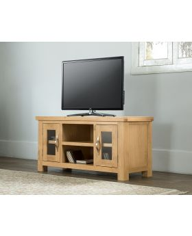Michael O'Connor Valencia Large Oak TV Unit