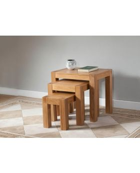 Michael O'Connor Lucerne Nest of Oak Tables