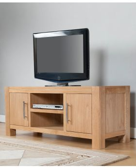 Michael O'Connor Lucerne 2 Door Oak TV Unit