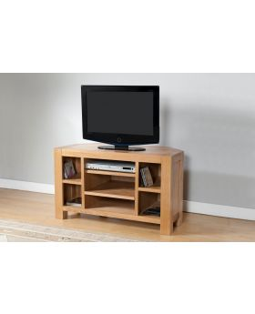 Michael O'Connor Lucerne Corner Oak TV Unit