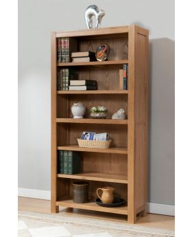 Michael O'Connor Lucerne 6ft Oak Bookcase