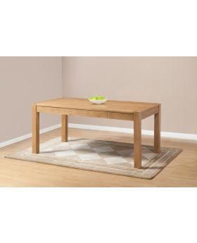 Michael O'Connor Lucerne Oak Extending Dining Table