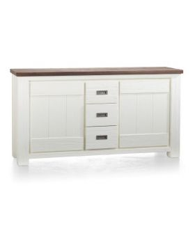 Habufa Deaumain Dining Down Part Buffet / Sideboard 2-Doors + 3-Drawers - 160 cm.