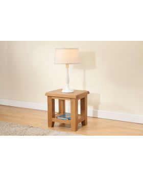 Michael O'Connor Shrewsbury Oak Lamp Table