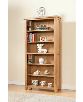 Michael O'Connor Shrewsbury 6' Oak Bookcase