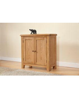 Michael O'Connor Shrewsbury Small 2 Door Oak Cabinet