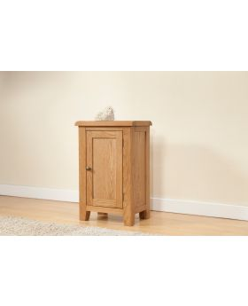 Michael O'Connor Shrewsbury Small 1 Door Oak Cabinet