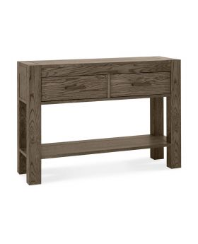 Turin Dark Oak Console Table