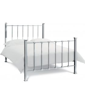 Bentley Designs Madison Shiny Nickel Bedstead