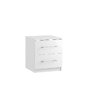 Roma 2 Drawer Bedside