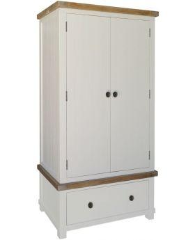 Classic Furniture Melton Reclaimed Pine Wardrobe