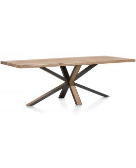 Habufa Ovada Starburst Rectangular Dining Table