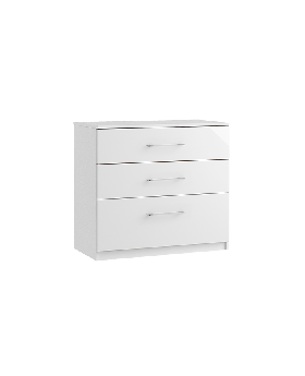 Roma 3 Drawer Deep Chest
