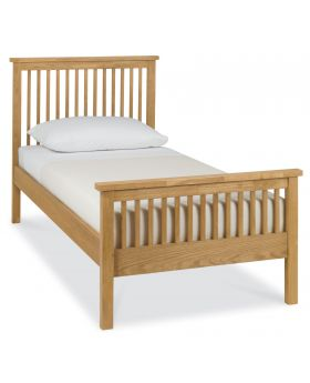 Bentley Designs Atlanta Oak 90Cm High Footend Bedstead