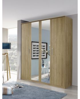 Rauch Kent 4 Door Wardrobe with Mirror